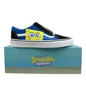 Vans x SpongeBob Old Skool Low Top Sneakers